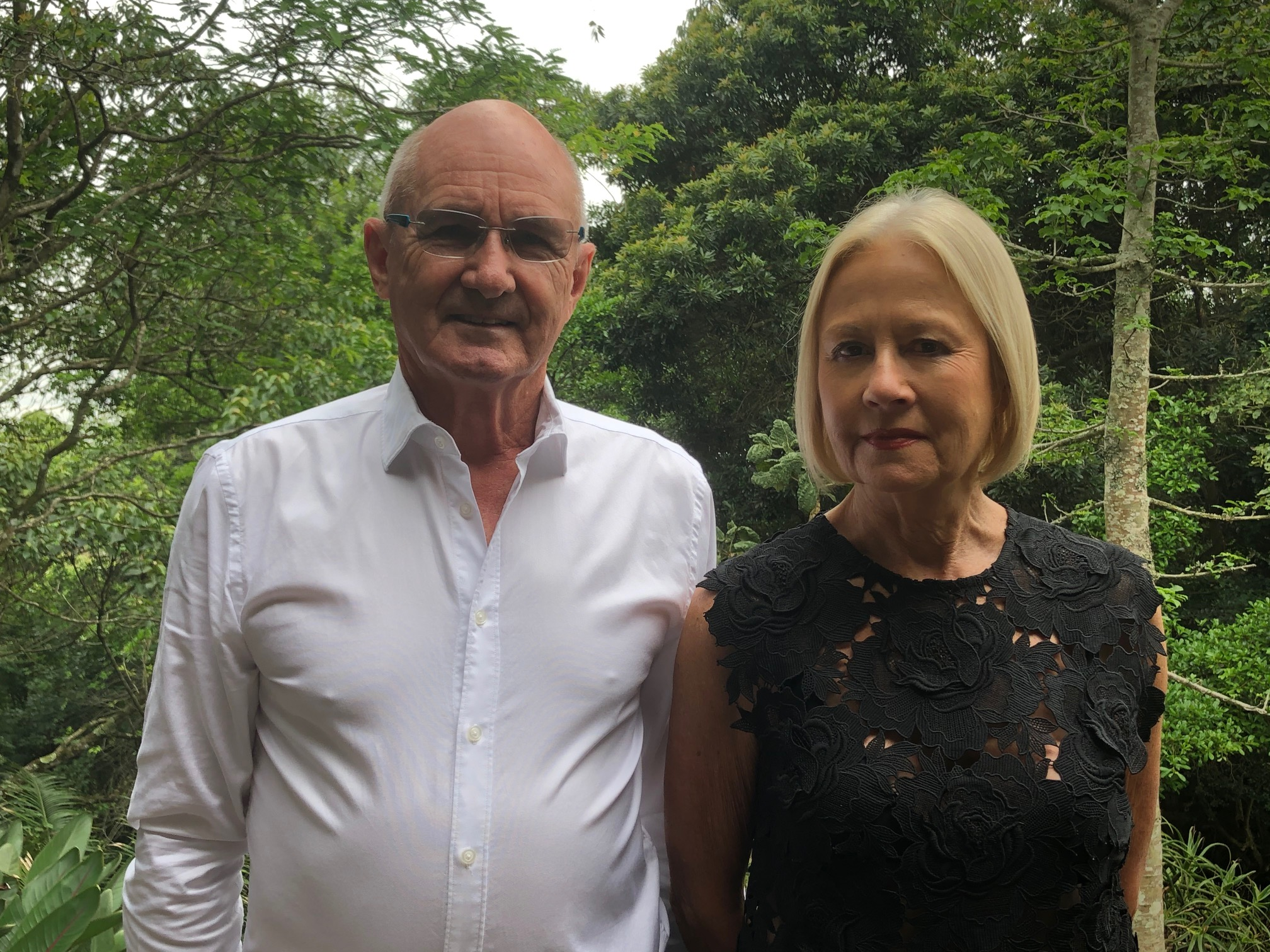 Rob(9th Baron of Muskerry) & wife Rita