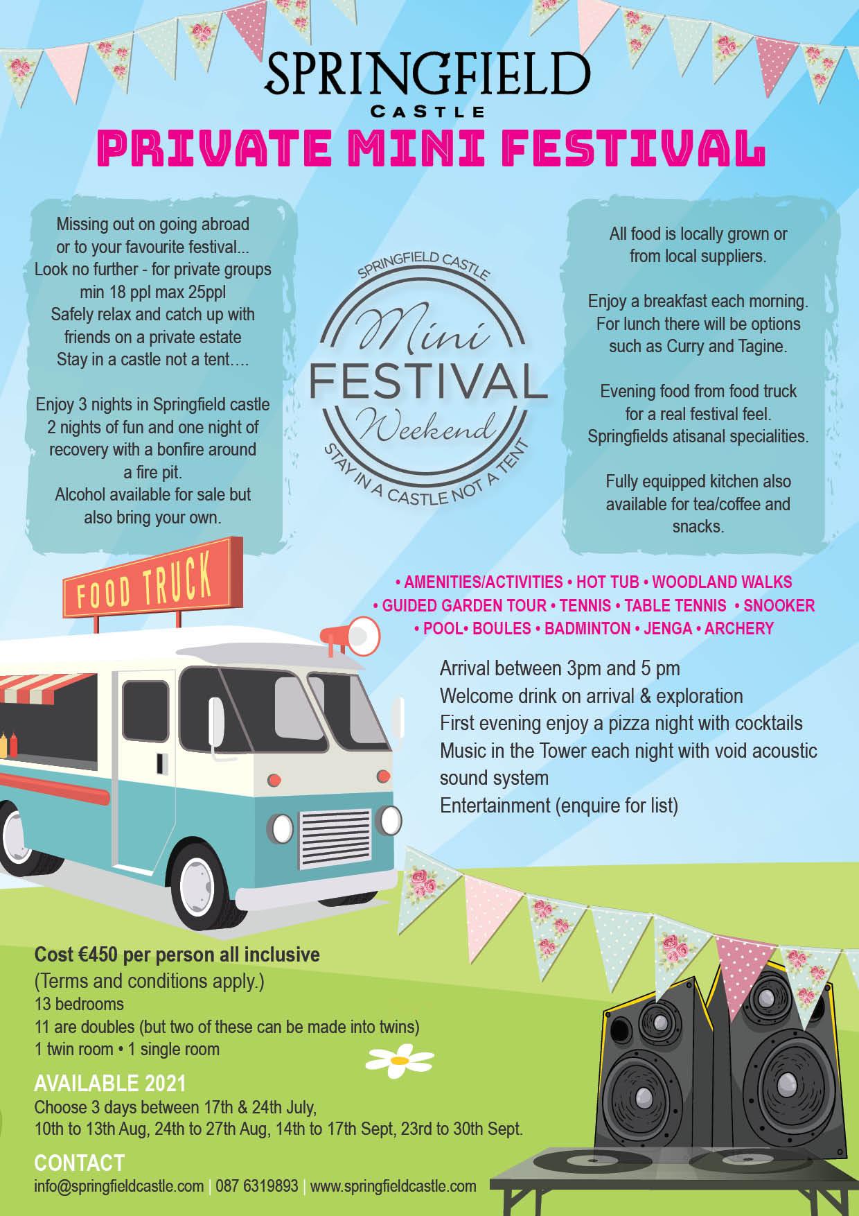 Private mini festival 2021