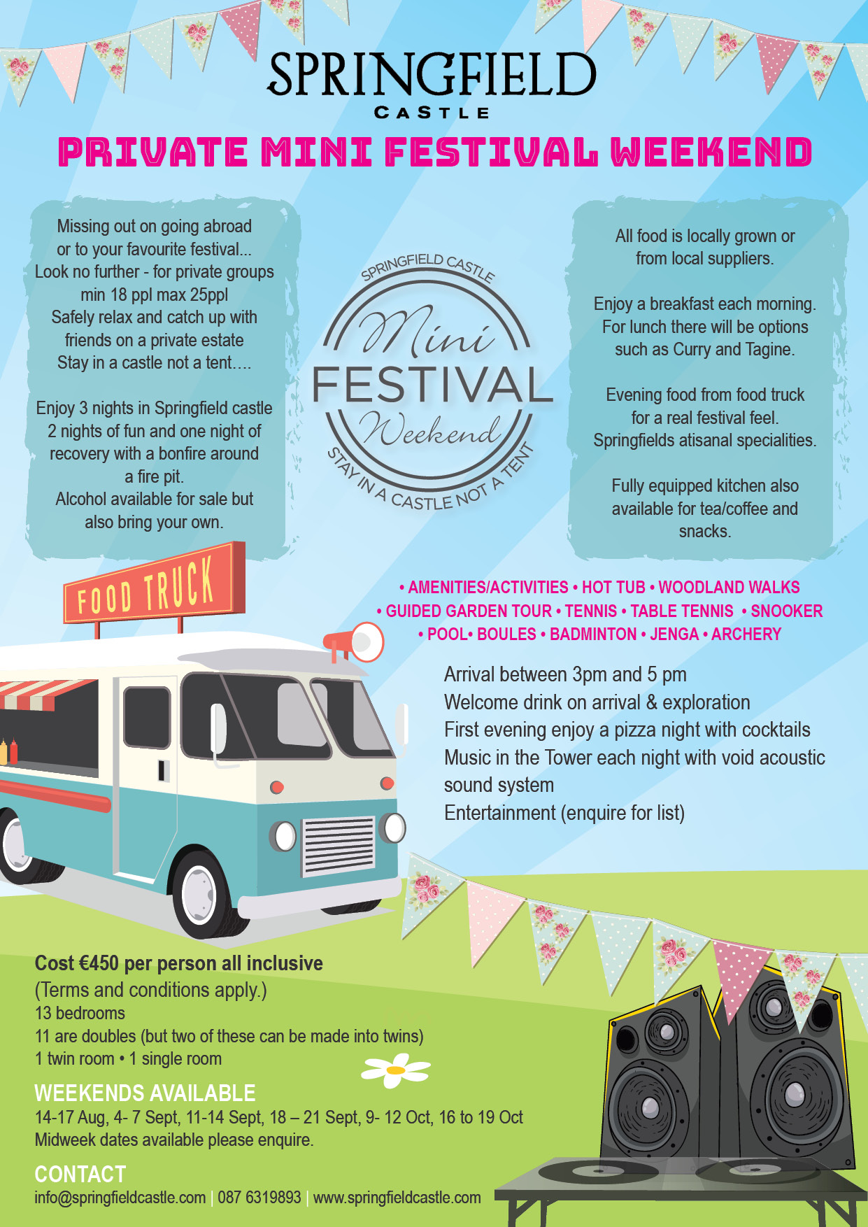 Private Festival Staycation Ireland